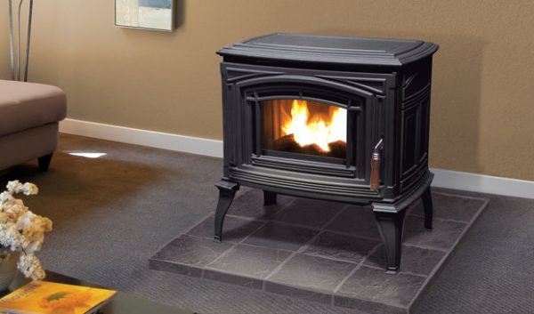 Enviro Meridian Cast Iron Pellet Stove Demo Unit